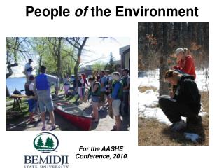 People  of  the Environment