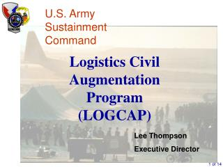 Logistics Civil Augmentation Program (LOGCAP)