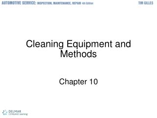 Cleaning Equipment and Methods