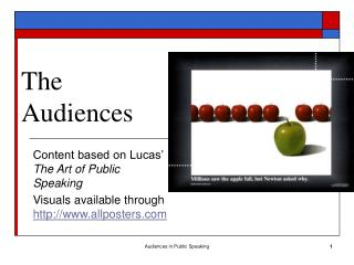 The Audiences