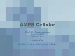 AMPS Cellular