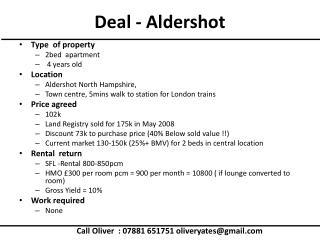 Deal - Aldershot