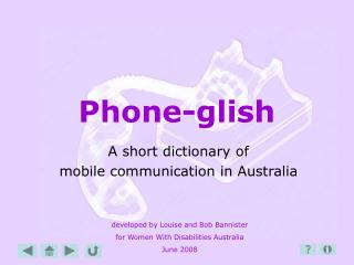 Phone-glish