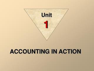ACCOUNTING IN ACTION
