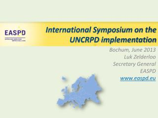 International Symposium on the UNCRPD implementation