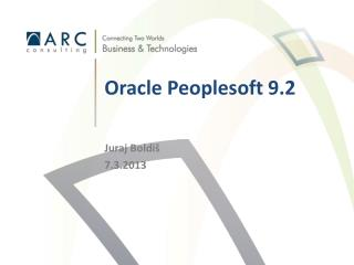 Oracle Peoplesoft  9.2