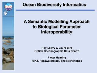 A Semantic Modelling Approach to Biological Parameter Interoperability