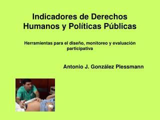 Antonio J. González Plessmann