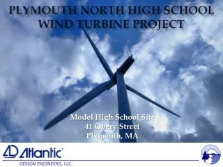 Plymouth North High School Wind Turbine Project