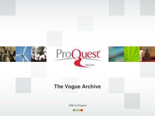 The Vogue Archive