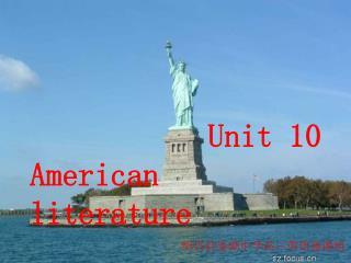 Unit 10 American literature