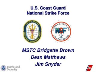 U.S. Coast Guard National Strike Force