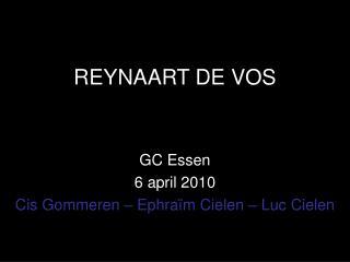 REYNAART DE VOS