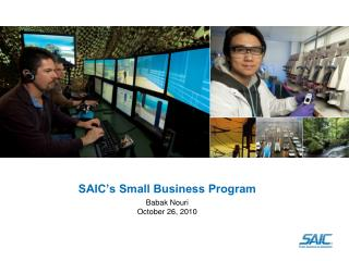 SAIC's Small Business Program