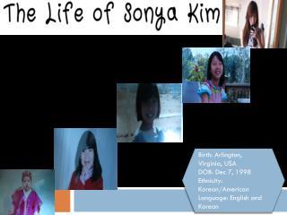 Birth: Arlington, Virginia, USA DOB: Dec 7, 1998 Ethnicity: Korean/American