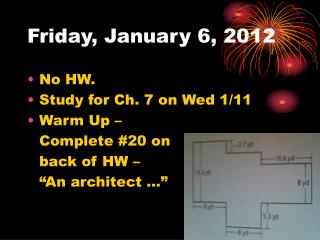 Friday, January 6, 2012