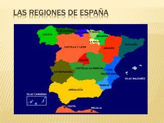 Las Regiones de España