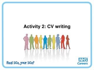 Activity 2: CV writing