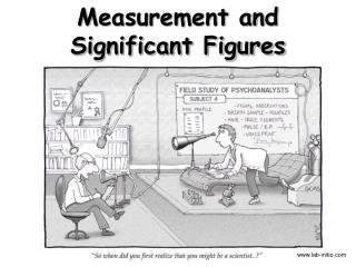 Measurement and Significant Figures