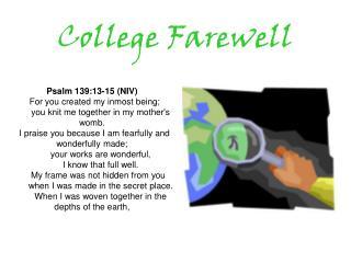 College Farewell