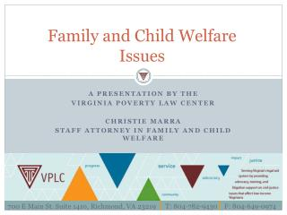 Family and  Child Welfare Issues