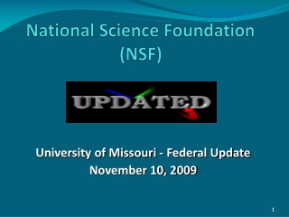Cyber-Enabled Discovery and Innovation CDI   The NEW NSF Initiative
