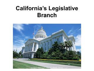 California's Legislative Branch