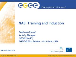 NA3: Training and Induction