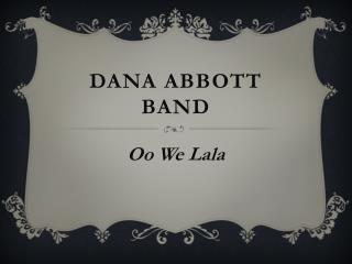Dana Abbott Band
