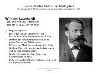 Wilhelm Launhardt