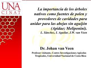 Dr. Johan van Veen
