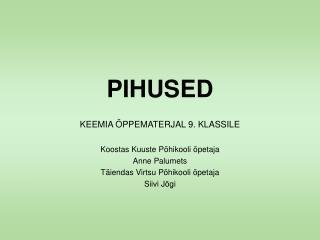 PIHUSED