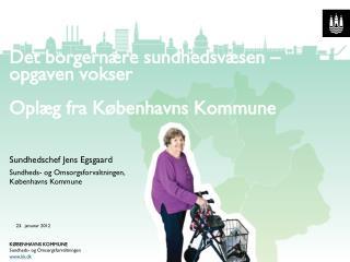 Det borgernære sundhedsvæsen – opgaven vokser Oplæg fra Københavns Kommune