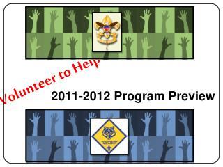 2011-2012 Program Preview
