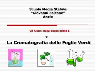 """Scuola Media Statale """"Giovanni Falcone"""" Anzio"""