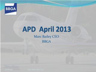 APD  April 2013