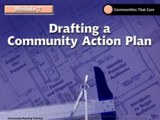Community Planning Training