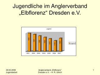 "Jugendliche im Anglerverband ""Elbflorenz"" Dresden e.V."