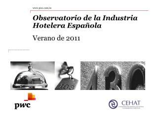 Observatorio de la Industria Hotelera Española