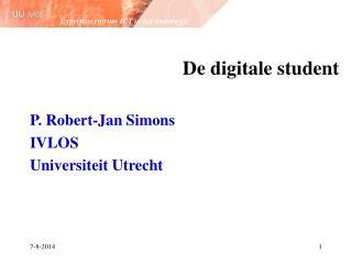 De digitale student