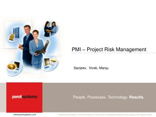 PMI – Project Risk Management