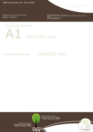 A1  (594  x  841  mm)
