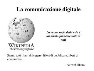 La comunicazione digitale