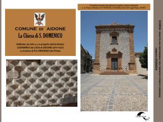 SCHEDA  redatta dal responsabile dell'archivio storico comunale       umberto DIGRAZIA