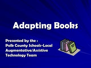 Adapting Books