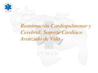 Reanimación Cardiopulmonar y Cerebral; Soporte Cardíaco Avanzado de Vida