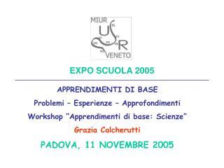 EXPO SCUOLA 2005
