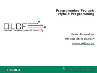 Programming Project: Hybrid Programming