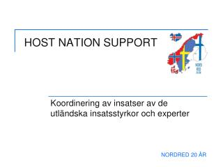 HOST NATION SUPPORT