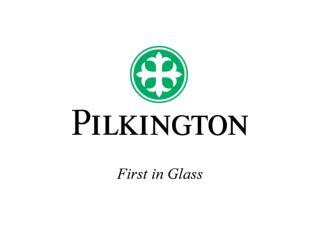 'Passo dopo passo verso la marcatura CE' Pilkington  Presentazione per operatori esterni